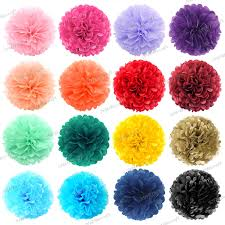 How To Make Fluffy Decoration Balls Paper Party Decorations eBay 86