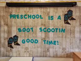 Western Theme Back To School Preschool Bulletin Board Ideas Mrs