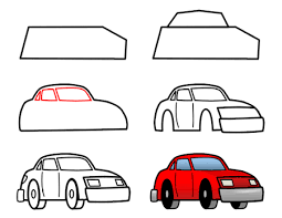 how to draw easy cartoon cars page 6