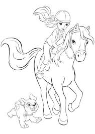 Lego Friends Mia Coloring Pages Sonja Lego Coloring Horse