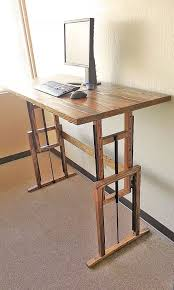 great standing desk ideas 17 best ideas about standing desks on sit stand desk