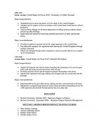 Air Force Resume Template Free Resume Example And Writing Download