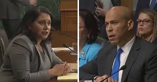 Image result for sen booker and Neomi rao