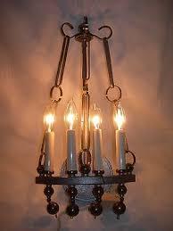 7 Of 12 Vintage HART ASSOCIATES~Textured METAL Sculptural Brass SCONCE WALL  LAMP 4 Light