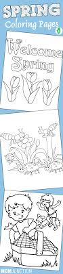 Spring Coloring Sheets For Toddlers L L