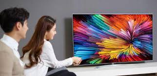 lg nano cell tv. as with many modern tvs, the lg super uhd range is almost impossibly thin and sport a crescent stand that make their screens from 55\u201d up to lg nano cell tv l