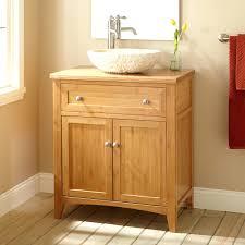 bamboo vanity bathroom. Bamboo Vanity Bathroom Narrow Depth Vessel Sink Vanities .