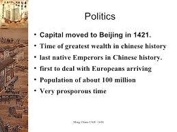 Spec Chart Ap World History Ap Ming Dynasty Powerpoint