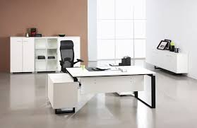 white modern office. Plain Office Advantages From Contemporary Office Furniture White Modern  Desk In E