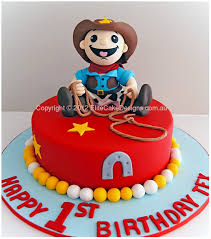 Cowboy Birthday Cake Elmo And Friends Birthday Cake Children