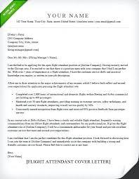Flight Attendant Resume Templates Stunning Cover Letter Example Flight Attendant Elegant Cl Free Sample Resume