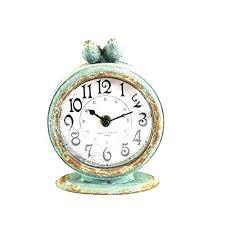 small desk clock clocks table decorative silver target best digital argos small desk clock