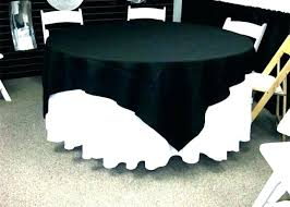small round table cover side