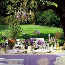 Purple and green wedding colors Bridesmaid Dresses an Aromatic Feast The Reception Table Calls For Family Gathering Set Amid Lush Garden Brides Wedding Color Scheme Purple And Green Brides