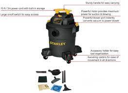3000W Máy hút bụi ướt/khô Stanley SL19116P