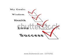Professional Goals List List Life Goals Stock Photo Edit Now 53770762
