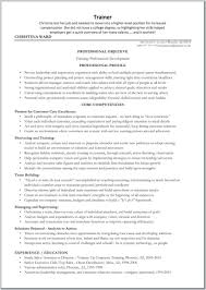 Template Trainer Profile Sample Personal Resume Horse Templates