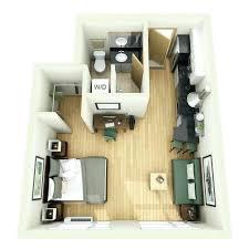Studio One Bedroom Apartment Design