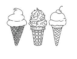 soft serve ice cream cone drawing. Wonderful Soft PRINTABLE COLORING SHEET Instant Download Ice Cream Cones Coloring Sheet  Kids Activities Adult Page 85x11 In Soft Serve Cone Drawing W