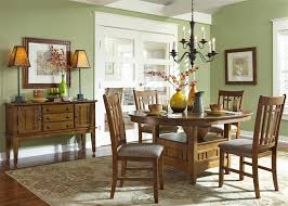santa rosa pedestal table 5 piece dining set in mission oak finish by liberty furniture 25 t4866
