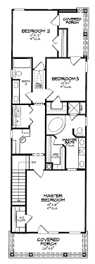 small one story house plans for narrow lots nikura
