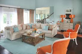 Orange And Blue Living Room Marvelous Orange Blue Living Room Orange And Blue Living Room Home