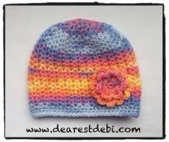 Chemo Cap Crochet Pattern Simple Crochet Baby Chemo Cap Dearest Debi Patterns