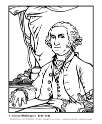 Small Picture Bluebonkers US Presidents coloring pages President George