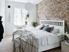 A Few Design Ideas For A Small Bedroom Can Be To Include A Brick Wall As A  Focal Wall (you Can Use Either True Brick Or A Wallpaper) And Pair It With  ...