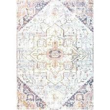 vintage tribal rosette blush 4 ft x 6 area rug pink 8x10 n