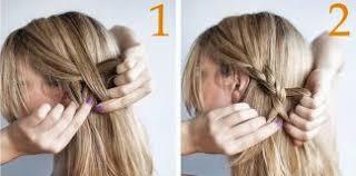 Image Coiffure Mariage Facile Coiffure Cheveux Mi Long