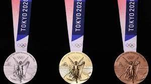 ميداليات الألعاب الأولمبية طوكيو 2020 مصنعة من الهواتف الذكية | Olympic  medals, Tokyo 2020 olympics, Medal design