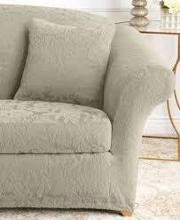 stretch sofa jacquard damask 2 piece sofa slipcover loveseat slipcoverssure fit slipcoverssofa chairfurniture