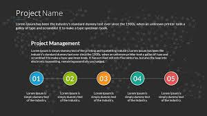 Powerpoint Project Management Templates Project Management Powerpoint Presentation Template