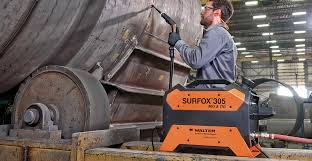 the versatile surfox 305 electrochemical mig and tig weld cleaning system is now safer faster and more user friendly for removing heat tint from the