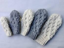 Crochet Mittens Pattern