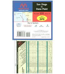 Waterproof Charts 16 Maptech San Diego To Dana Point Waterproof Chart