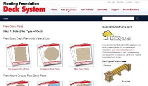 free deck plans design your own online and get a full materials list from custom pool n22