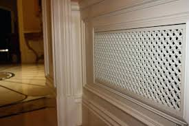 wall vent covers wood