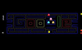 google doodle interactive. Fine Doodle The Interactive Google Doodle From May Which Was A Playable Version Of Pac  Man For Interactive A