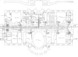 Floor Plan Of The White House Original Living Quarters Washington