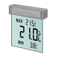 Tfa Digitales Fenster Thermometer Vision Grau Kaufen Bei Obi