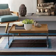 tray top coffee table coffee tables better living through design