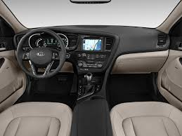 Image: 2011 Kia Optima 4-door Sedan 2.4L Auto EX Hybrid Dashboard ...