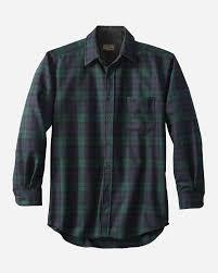 Vintage Pendleton Size Chart Mens Lodge Shirt