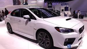 subaru wrx 2016 interior. Unique Subaru 2016 Subaru WRX AWD  Exterior And Interior Walkaround 2015 LA Auto Show  YouTube Throughout Wrx 1