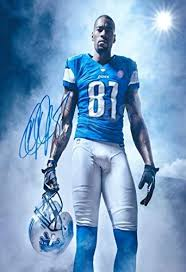 Amazon.com : Calvin Johnson Megatron Autograph Replica Poster - Lions :  Sports & Outdoors