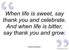 Sweet Life Quote
