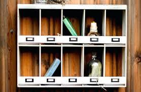 large cubby shelf wall organizer umbra mount large wood large cubby wall shelf