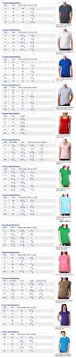 Next Level Apparel Size Chart Custom T Shirts From Monkey